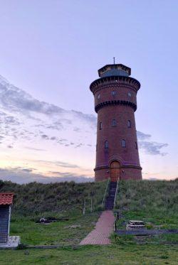 Der Wasserturm von Borkum